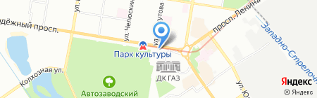 Радость на карте Нижнего Новгорода