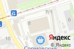 Схема проезда до компании Наш доктор в Нижнем Новгороде