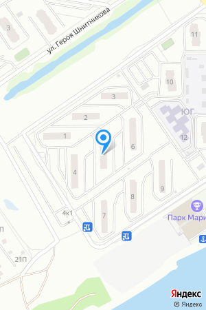 Микрорайон ЮГ, Южный бул., 5 на Яндекс.Картах