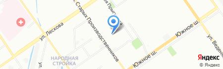 Брасед на карте Нижнего Новгорода