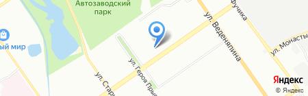 Белорусская косметика на карте Нижнего Новгорода