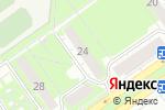 Схема проезда до компании Золотая галерея в Нижнем Новгороде