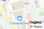 Схема проезда до компании Орбита в Нижнем Новгороде