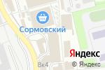 Схема проезда до компании Домовой кузькин в Нижнем Новгороде
