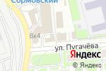 Схема проезда до компании Питомец в Нижнем Новгороде