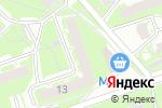 Схема проезда до компании RUSGLOBAL в Нижнем Новгороде