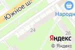Схема проезда до компании TianDe в Нижнем Новгороде