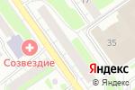 Схема проезда до компании Аврора сервис в Нижнем Новгороде