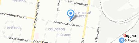 Домус на карте Нижнего Новгорода