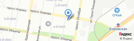 АкваМонтаж на карте Нижнего Новгорода