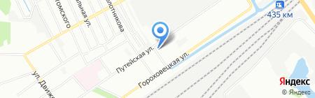 Горячий Хлеб на карте Нижнего Новгорода