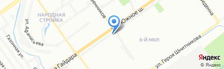 ParGo.ru на карте Нижнего Новгорода