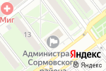 Схема проезда до компании Управление образования в Нижнем Новгороде