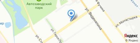 Люкс Тур-НН на карте Нижнего Новгорода