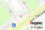 Схема проезда до компании Акцент в Нижнем Новгороде