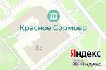 Схема проезда до компании К-Концерт в Нижнем Новгороде