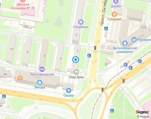 Управляющая компания «Наш Дом» на карте Нижнего Новгорода