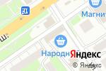 Схема проезда до компании Сгомонь в Нижнем Новгороде