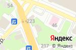 Схема проезда до компании Магазин швейной фурнитуры на ул. Коминтерна в Нижнем Новгороде