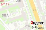 Схема проезда до компании АртИдея в Нижнем Новгороде