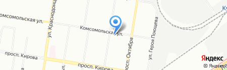 Южный Двор Поволжье на карте Нижнего Новгорода