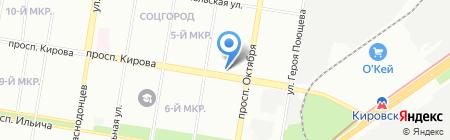 Drive52 на карте Нижнего Новгорода