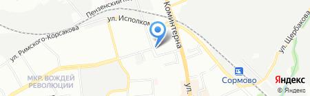 Городецкие продукты на карте Нижнего Новгорода