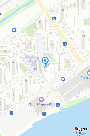 Микрорайон ЮГ, Южный бул., 14 на Яндекс.Картах