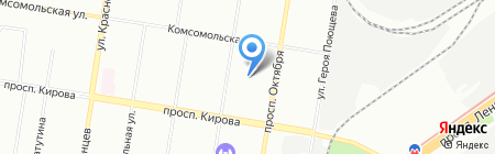 Детский сад №73 на карте Нижнего Новгорода