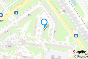 Двухкомнатная квартира в Нижнем Новгороде ул. Раевского, 9