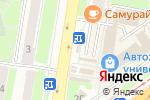 Схема проезда до компании Магазин цветов на проспекте Октября в Нижнем Новгороде