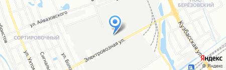 Крепеж 52 на карте Нижнего Новгорода