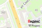 Схема проезда до компании СанСвет в Нижнем Новгороде
