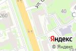 Схема проезда до компании ТМК инструмент и оборудование в Нижнем Новгороде