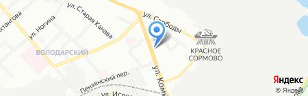 ТМК инструмент и оборудование на карте Нижнего Новгорода