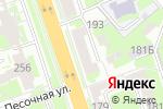 Схема проезда до компании Августин в Нижнем Новгороде