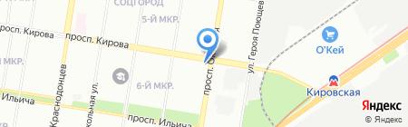 Bet club на карте Нижнего Новгорода