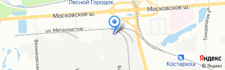 Фрукты и Продукты на карте Нижнего Новгорода