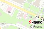Схема проезда до компании Сардана в Нижнем Новгороде