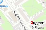 Схема проезда до компании Любимая пара в Нижнем Новгороде