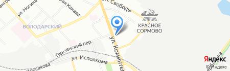 Первая парикмахерская на карте Нижнего Новгорода