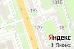 Схема проезда до компании Стриж в Нижнем Новгороде