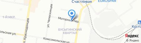 Кремль на карте Нижнего Новгорода