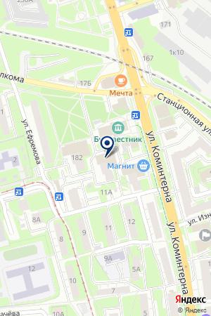 СЕРВИСНЫЙ ЦЕНТР МАРФИН на карте Нижнего Новгорода