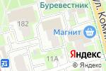 Схема проезда до компании Швейное ателье на ул. Коминтерна в Нижнем Новгороде