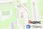 Схема проезда до компании Орхидея в Нижнем Новгороде
