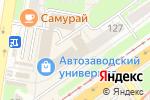 Схема проезда до компании Для тебя в Нижнем Новгороде