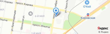 Профессионал на карте Нижнего Новгорода