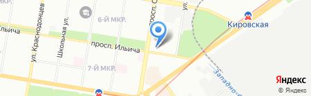 Cosmo на карте Нижнего Новгорода