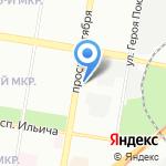 Поддержка-Гарант на карте Нижнего Новгорода